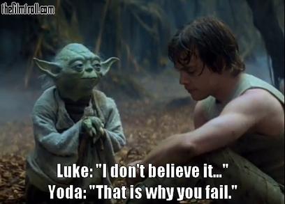 yoda - belief