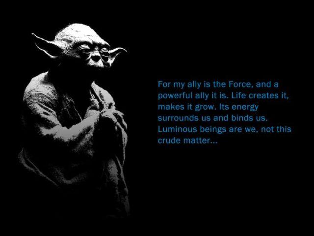 yoda luminous beings are we